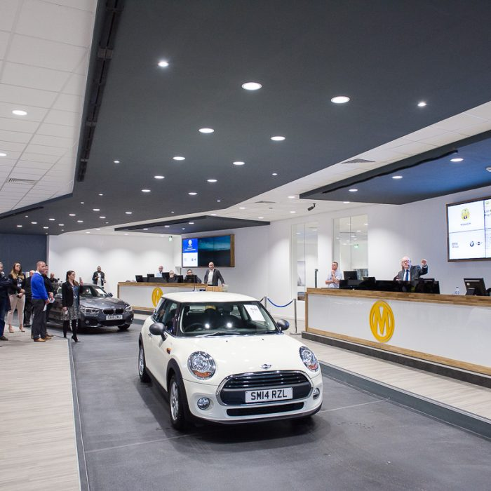 Completed design for Manheim Bruntingthorpe, created by Katapult