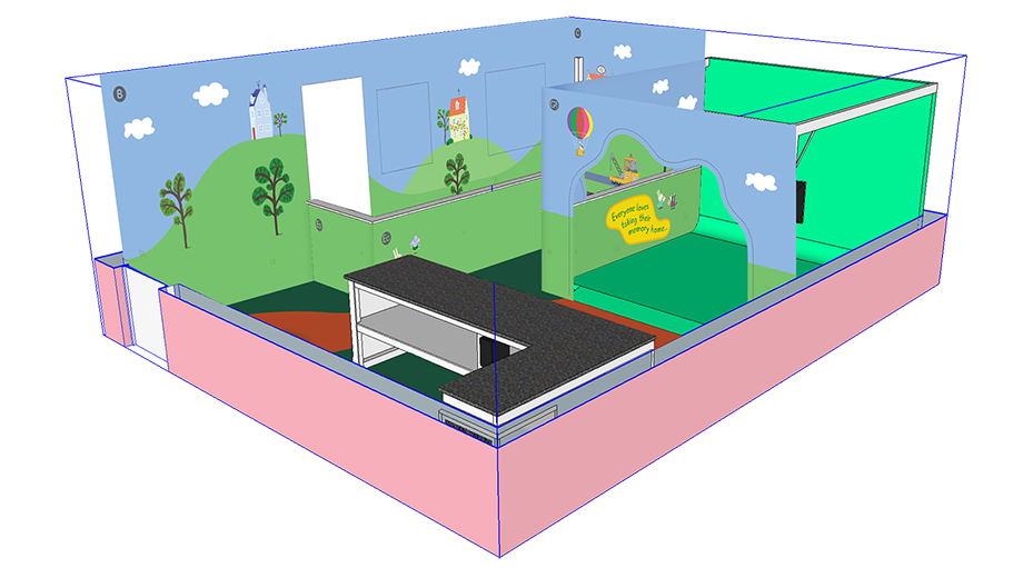 Concepts for guest experience at Peppa Pig, Paulton's Park