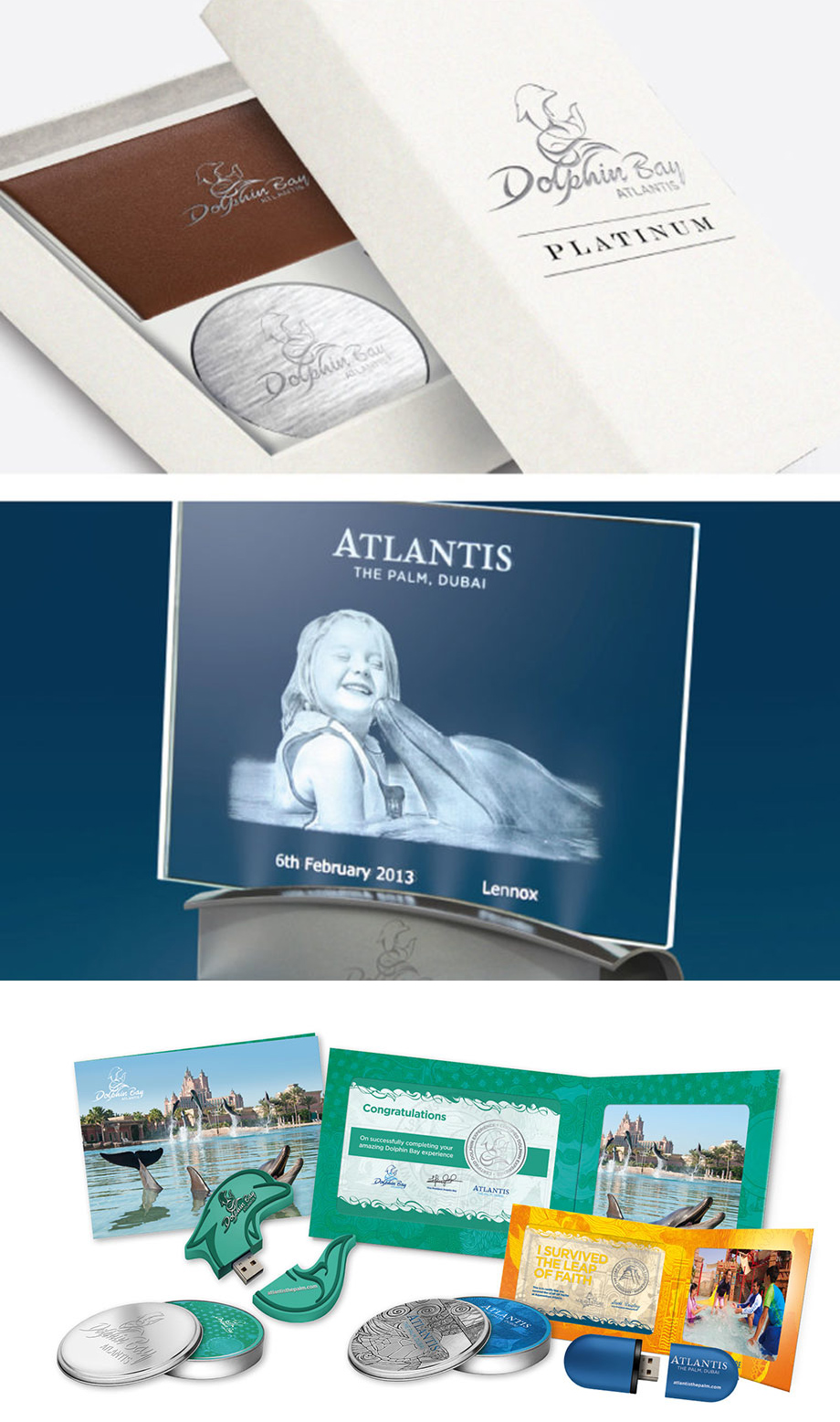 Premium photo experience products for Atlantis, The Palm, Dubai - created by Katapult