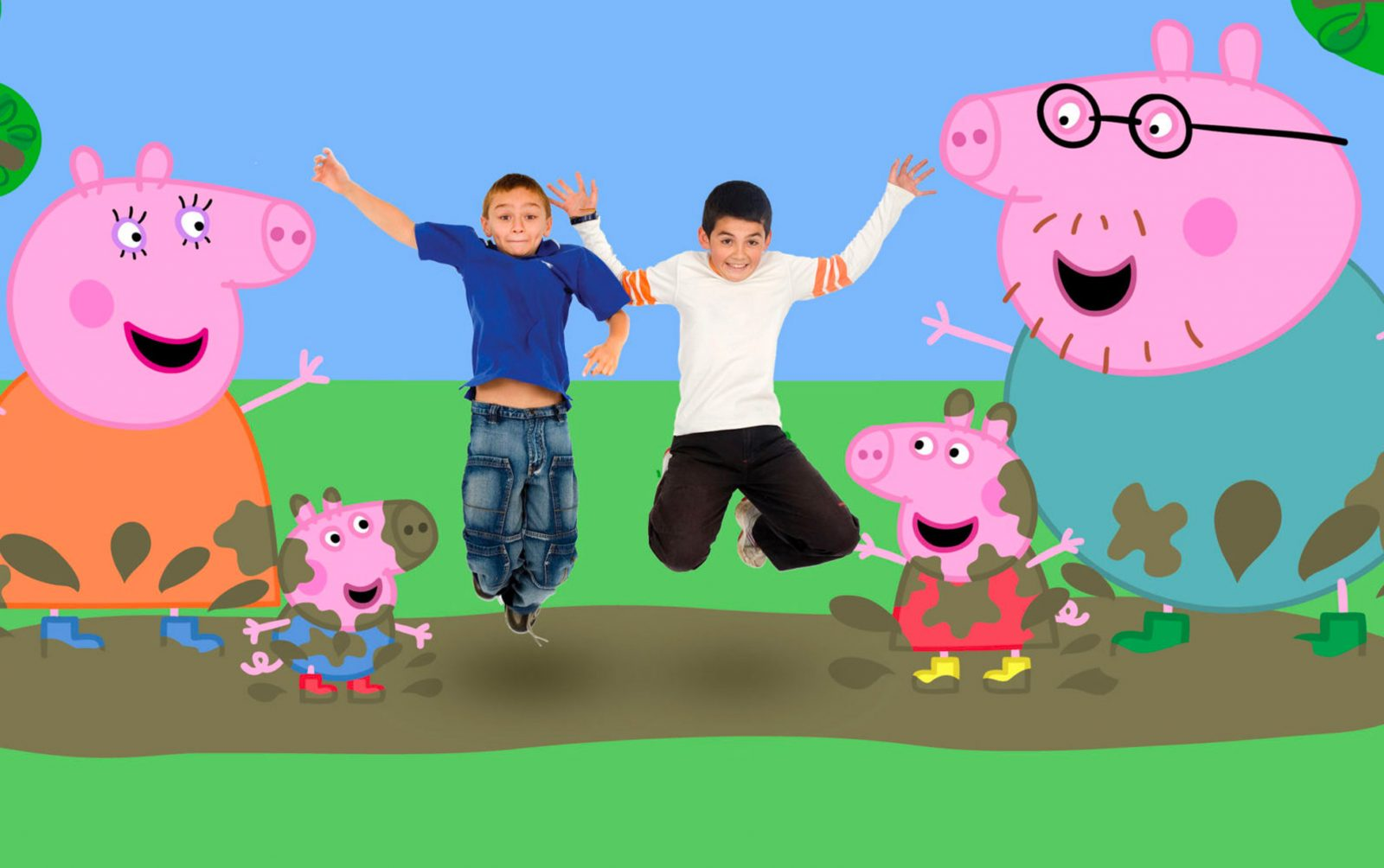 Peppa Pig at Paulton's Park, designed and created by Katapult
