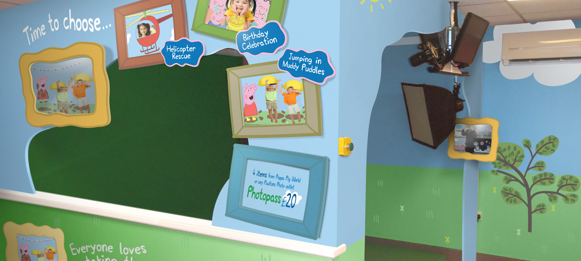 Peppa Pig guest experience at Paulton's Park