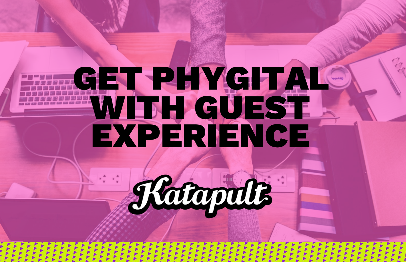 Phygital guest experience