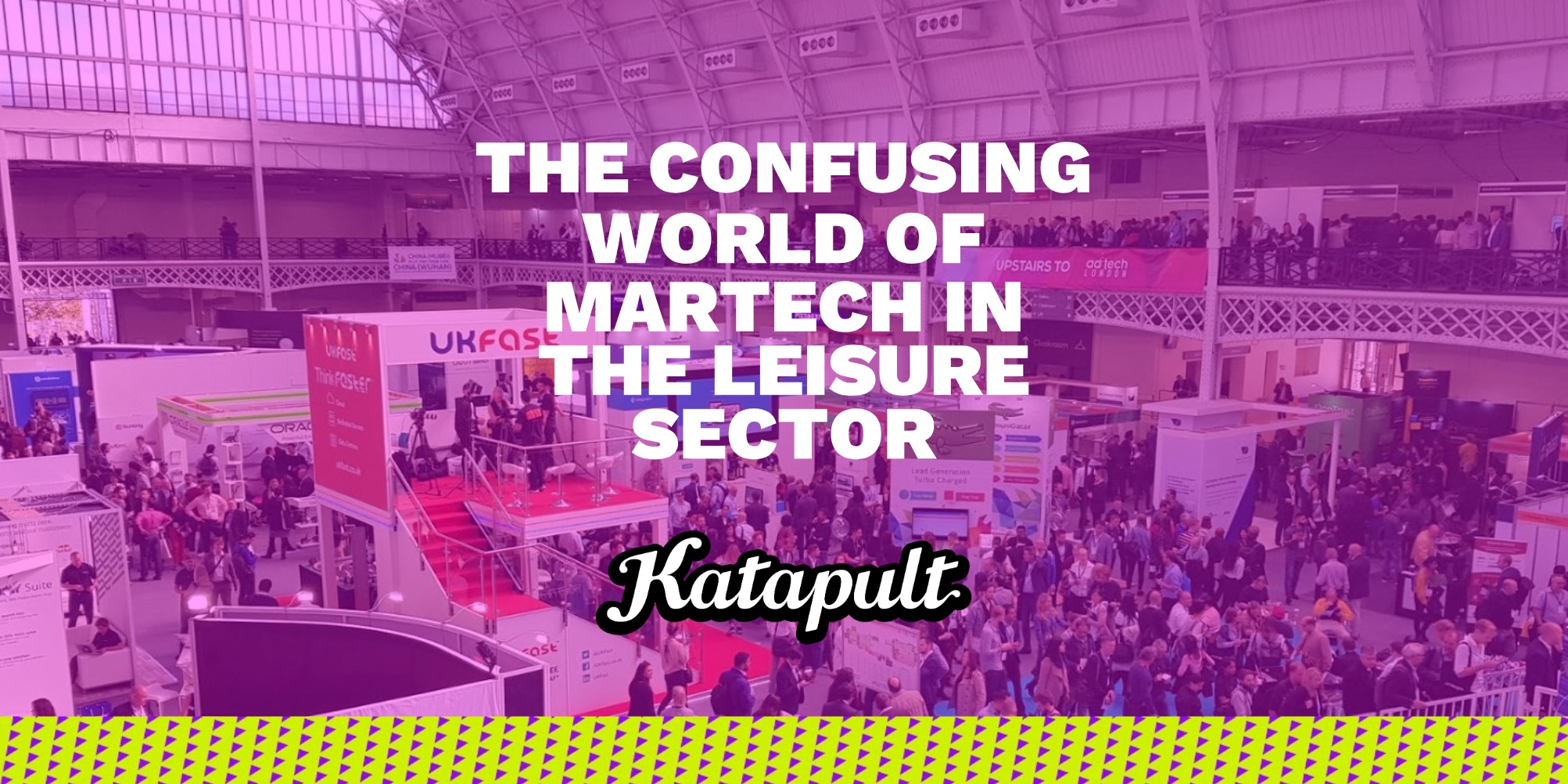 The Confusing World of MarTech in the leisure industry