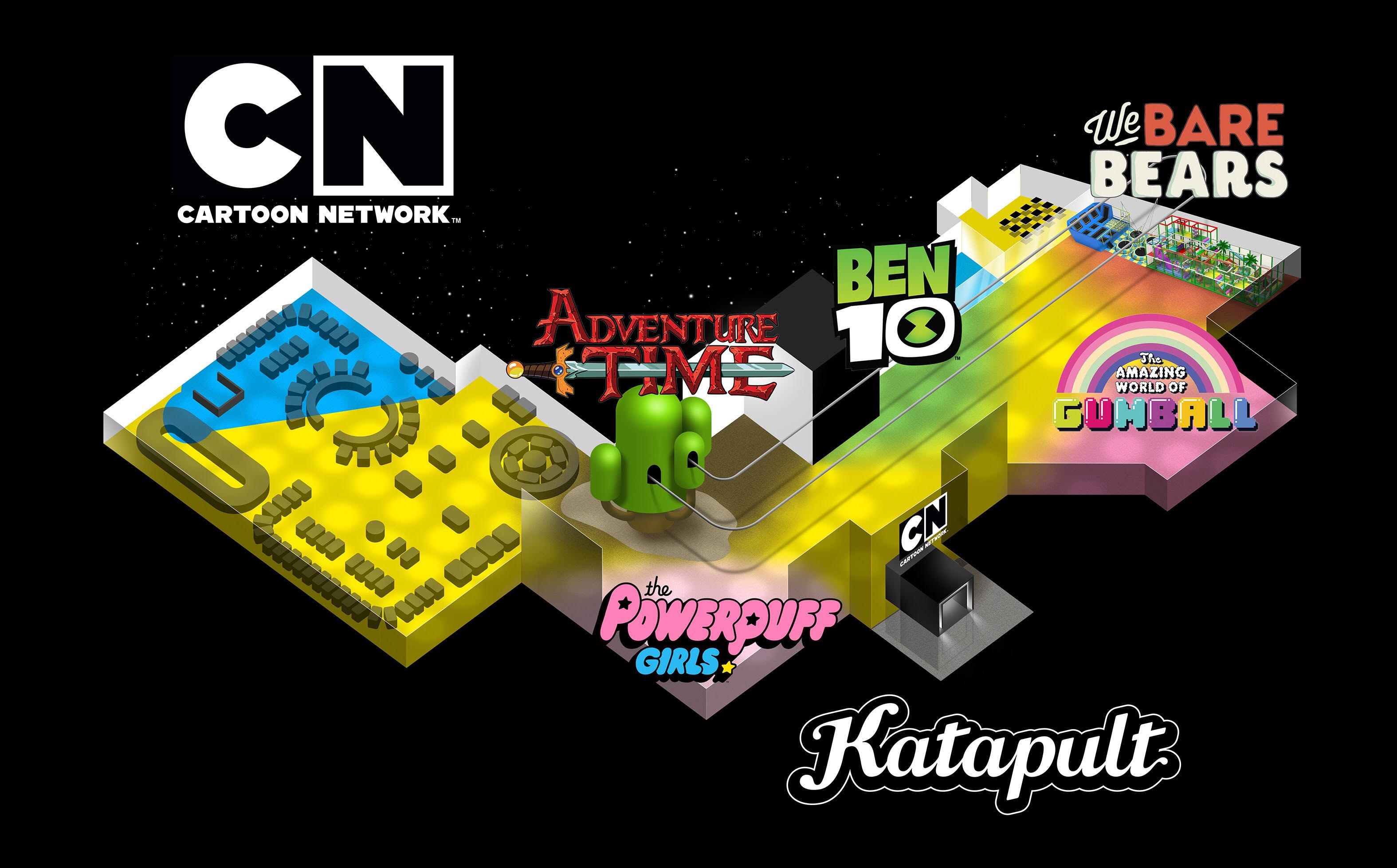 Katapult Cartoon Network Themed Attraction Kuwait